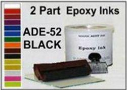 ADE52 Opaque Black Epoxy Ink ADE52 Quart Epoxy Ink