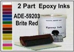 ADE-59203 Brite Red Epoxy Ink