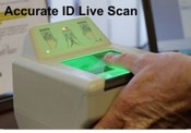 Live Scan Fingerprint Pads