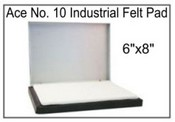 "Industrial Stamp Pad Size 6"" x 8"""