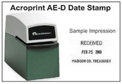 Acroprint Time Clock Acroprint AE-D Date Stamp
