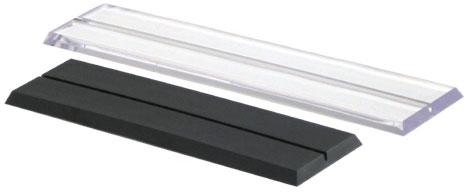 8 acrylic nameplate base p 100 nameplate base