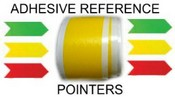 Adhesive Reference Pointers in Green