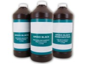 Amido Black Latent Print Aqueous Protein Stain with Fixative - 1 liter bottle