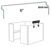 "B09100 6"" Wire Clip for Plastic Frames"