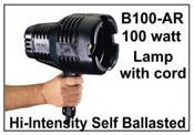 B-100A/R UV LW 100-watt Spot with cord