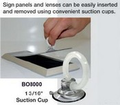BO8000 Clear Suction Cup