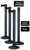 Beltrac Basic Retractable Post Crowd Control Stanchions