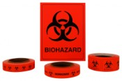 Biohazard Labels and Tape