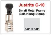 Justrite Plain Self-Inking C-10 Stamp