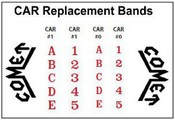 Comet Replacement Date Bands Comet Line Dater Replacement Bands Pullman Replacement Date Bands Pullman Line Dater Replacement Bands Comet & Pullman Replacement Date Sets