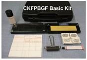 CKFPBGF Basic Fingerprint Kit, Folding Glass Inking Station