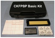 "CKFPBP Basic Fingerprint Kit, with Dark ""LE"" #3 Fingerprint Pad"