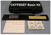 CKFPBSEF Basic Fingerprint Kit, with Folding and #3.5 Inkless Pad
