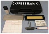 Basic Fingerprint Kit, W/Single Steel Slab CKFPBSS Basic Fingerprint Kit, W/Single Steel Inking Slab.