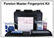 Porelon Master Portable Fingerprinting Kit