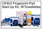 Inking Pad START-UP Kit W/Towelettes