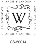 Designer and Monogram Stamp