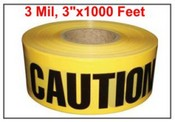 """CAUTION"" Barrier Tape"