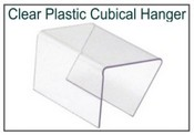 Clear Plastic Cubical Hanger