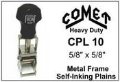CPL-10 Comet Plain Self-Inking Stamp Comet CPL 10