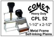 CPL-52 Comet Plain Self-Inking Stamp Comet CPL 52
