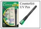 UV Counterfeit Detector Pen