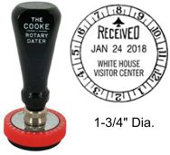 No. 2 Cooke Time & Date Stamp