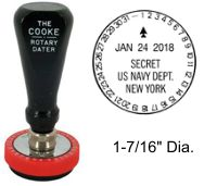 No. 22 Cooke Time & Date Stamp
