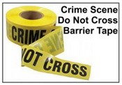 Barrier TapeCrime Scene Do Not Cross Barrier Tape