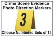 Evidence Collection Photo Markers