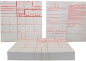 Criminal Record Fingerprint Cards