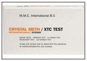 MMC-MEX Crystal Meth/XTC Test - 10 ampoules/box