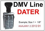DMV Line Dater