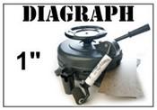 """Diagraph 0105000K 1"""" Stencil Machine"""