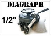 """Diagraph 0104000K 1/2"""" Stencil Machine"""