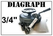 """Diagraph 3/4"""" Stencil Machine"""