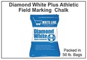 Diamond White Plus Athletic Field Marker