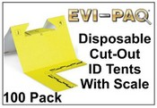 EVI-PAQ Disposable Cut-Out ID Tents