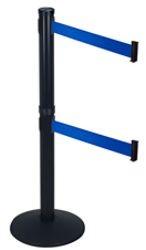 Model 300D Retracta-Belt Dual Line Posts