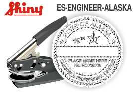 ALASKA Engineer Embossing Seal