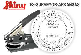 Arkansas Surveyor Embossing Seal