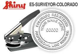 Colorado Surveyor Embossing Seal