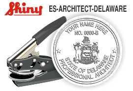 Delaware Architect Embossing Seal
