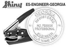 Georgia Engineer Embossing Seal