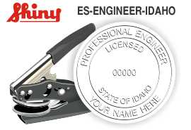 Idaho Engineer Embossing Seal