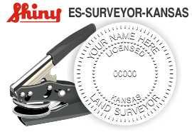 Kansas Surveyor Embosser