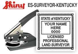 Kentucky Surveyor Embossing Seal