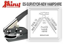 Maine Surveyor Embosser Engineering Stamp Architectural Stamp Mechanical Engineer Stamp Land Surveyor Stamp