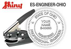 Ohio Engineer Embossing Seal